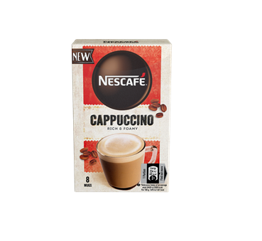 NESCAFÉ Latte & NESCAFÉ Cappuccino