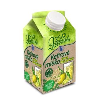 Kefírové mléko nízkotučné citron, bezový květ z Valašska