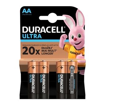 Duracell Ultra – alkalické baterie s extra výkonem