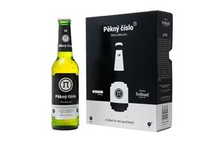 Pěkný číslo unikátní české pivo inspirované číslem π
