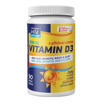 MaxiVita® Vitamin D3 800 IU