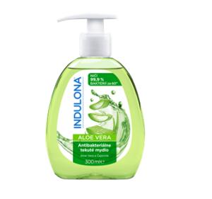 INDULONA antibakteriální tekutá mýdla ALOE VERA a LEVANDULE