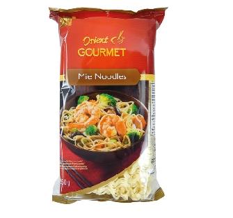 Mie nudle bezvaječné 250 g  a Mie nudle celozrnné Orient Gourmet 250 g