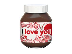 Řekněte to vzkazem.  Pomazánka Nutella spojuje!