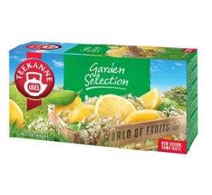 Zahradní harmonie svěžího čaje  TEEKANNE Garden Selection