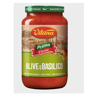 Těstoviny a omáčky Vitana Prima Cucina
