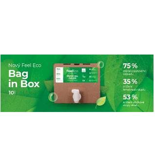 Feel Eco – nové balení v Bag in Boxech