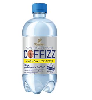 Kofeinová voda Tchibo Coffizz