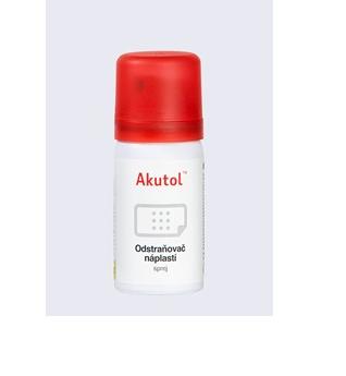 Akutol –  bezbolestný odstraňovač náplastí ve spreji
